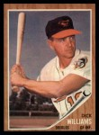 1962 Topps #382  Dick Williams  Front Thumbnail