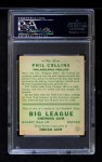 1933 Goudey #21  Phil Collins  Back Thumbnail