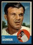 1963 Topps #180  Bill Skowron  Front Thumbnail