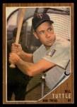 1962 Topps #298   Bill Tuttle Front Thumbnail