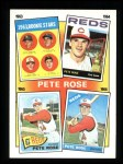 1986 Topps #2  Rose Special: 63-66  Front Thumbnail