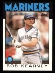 1986 Topps #13   Bob Kearney Front Thumbnail