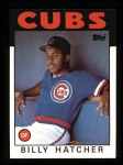 1986 Topps #46  Billy Hatcher  Front Thumbnail
