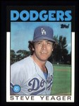 1986 Topps #32  Steve Yeager  Front Thumbnail