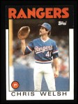 1986 Topps #52   Chris Welsh Front Thumbnail