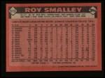 1986 Topps #613   Roy Smalley Back Thumbnail