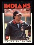 1986 Topps #59   Andre Thornton Front Thumbnail