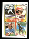 1986 Topps #6  Rose Special: 79-82  Front Thumbnail