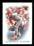 1986 Topps #66  Cardinals Leaders  -  Cardinals Leaders Front Thumbnail