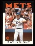 1986 Topps #27   Ray Knight Front Thumbnail