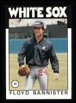 1986 Topps #64   Floyd Bannister Front Thumbnail