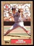1987 Topps #425   Tom Seaver Front Thumbnail