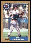 1987 Topps #674  Bill Campbell  Front Thumbnail