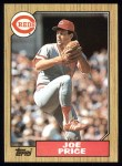 1987 Topps #332   Joe Price Front Thumbnail