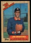 1987 Topps #2  Record Breaker  -  Jim Deshaies Front Thumbnail