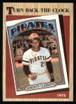 1987 Topps #313   -  Roberto Clemente Turn Back The Clock Front Thumbnail