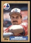 1987 Topps #774  Wayne Krenchicki  Front Thumbnail