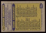 1987 Topps #468  George Bamberger  Back Thumbnail