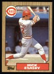 1987 Topps #13  Nick Esasky  Front Thumbnail