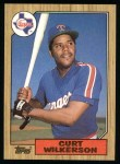 1987 Topps #228   Curt Wilkerson Front Thumbnail