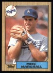 1987 Topps #664  Mike Marshall  Front Thumbnail