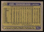 1987 Topps #759   Joel Youngblood Back Thumbnail