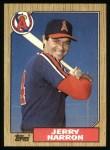 1987 Topps #474   Jerry Narron Front Thumbnail
