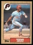 1987 Topps #294   Steve Jeltz Front Thumbnail