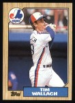 1987 Topps #55   Tim Wallach Front Thumbnail