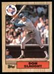 1987 Topps #308  Don Slaught  Front Thumbnail