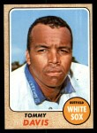 1968 Topps #265   Tommy Davis Front Thumbnail