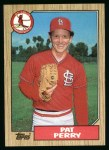 1987 Topps #417  Pat Perry  Front Thumbnail