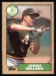 1987 Topps #137  Jerry Willard  Front Thumbnail