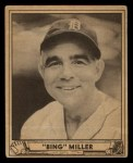 1940 Play Ball #137  Bing Miller  Front Thumbnail