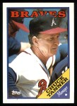 1988 Topps #134  Chuck Tanner  Front Thumbnail