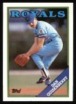 1988 Topps #195  Dan Quisenberry  Front Thumbnail