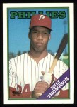 1988 Topps #298  Milt Thompson  Front Thumbnail