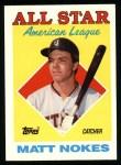 1988 Topps #393  All-Star  -  Matt Nokes Front Thumbnail