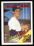 1988 Topps #18  Al Leiter  Front Thumbnail