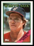 1988 Topps #132   Donnie Hill Front Thumbnail