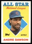 1988 Topps #401  All-Star  -  Andre Dawson Front Thumbnail