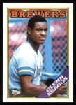 1988 Topps #263  Glenn Braggs  Front Thumbnail