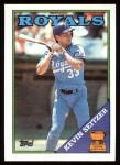1988 Topps #275  Kevin Seitzer  Front Thumbnail