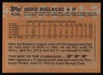 1988 Topps #436   Mike Bielecki Back Thumbnail