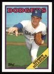 1988 Topps #455  Shawn Hillegas  Front Thumbnail