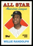 1988 Topps #387   -  Willie Randolph All-Star Front Thumbnail