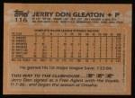 1988 Topps #116  Jerry Don Gleaton  Back Thumbnail