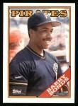 1988 Topps #450   Barry Bonds Front Thumbnail