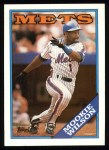 1988 Topps #255   Mookie Wilson Front Thumbnail