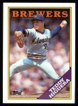 1988 Topps #110  Teddy Higuera  Front Thumbnail